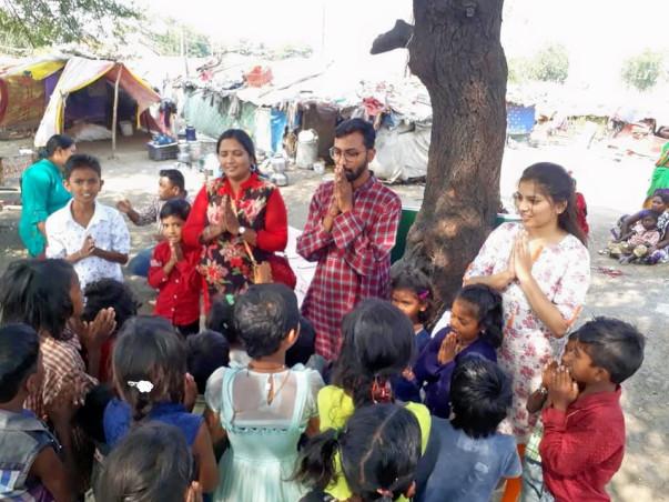 Help Slum children to get basic Education