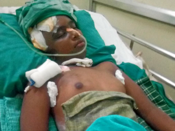 Help My Nephew Manikanada Perumal Fight Cerebrovascular Accident