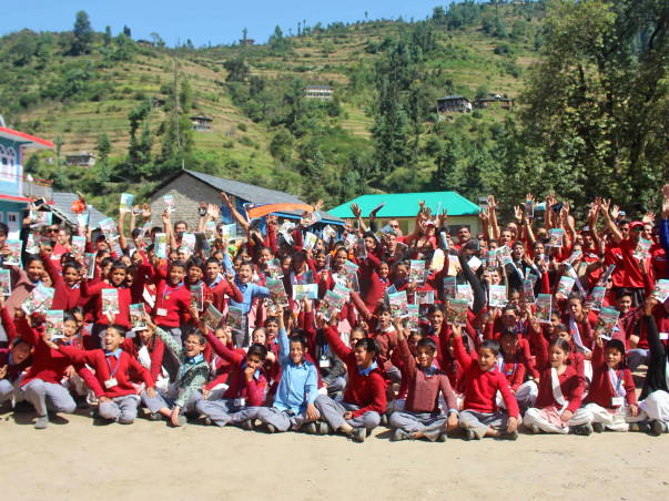 Change lives for 5000 kids in the Himalayas