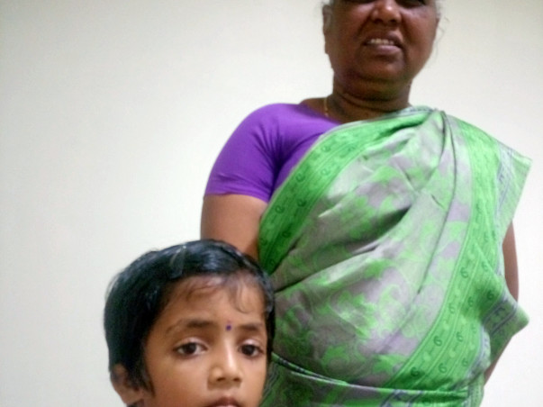 Little Girija needs your help