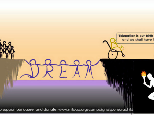 DREAM Run - YOU Support. I Run. They Win!!!