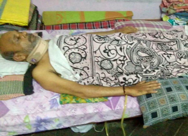 Help Nagaraju Undergo Cervical Spine Surgery