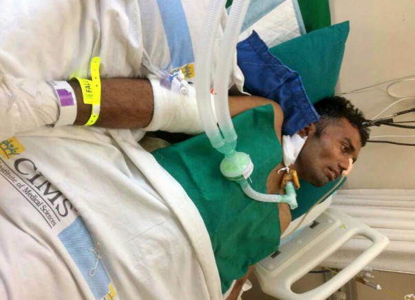 Help This National Volleyball Player Survive After A Horrible Accident