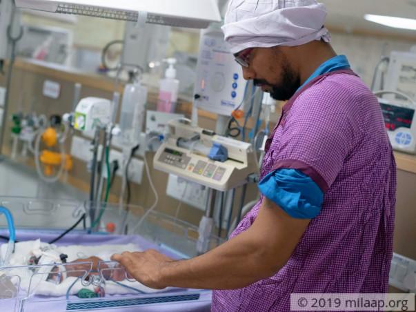 Help Babli's Premature Baby Survive