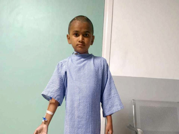 Your Support Can Help 12yr Old Arshad Fight Cancer