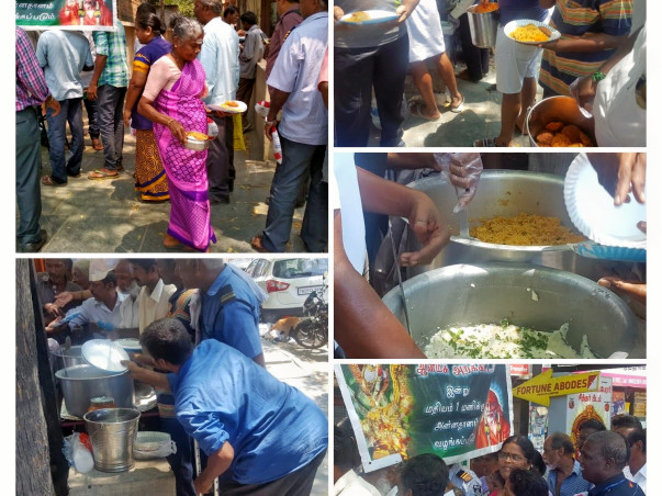 Mission 1 Lac Meals for the Homeless