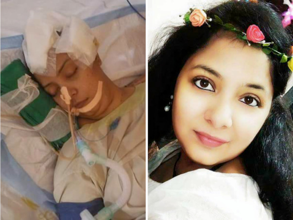 Help Kshma to bring her life back from coma 23 days. Fighting for lyf