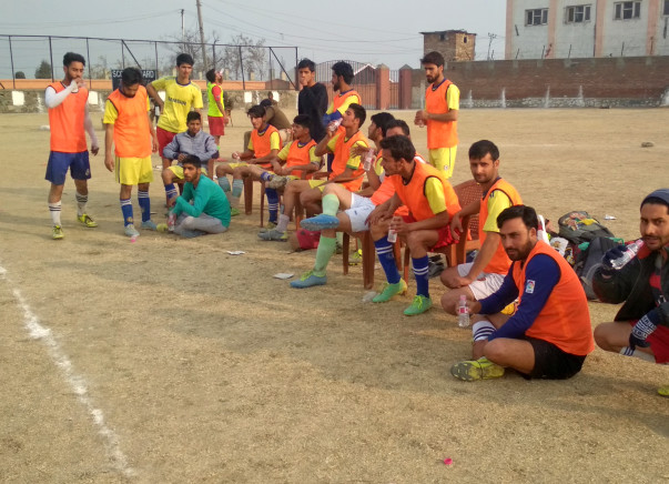 Fundraising for building a playground at Gowharpora, Kashmir for youth