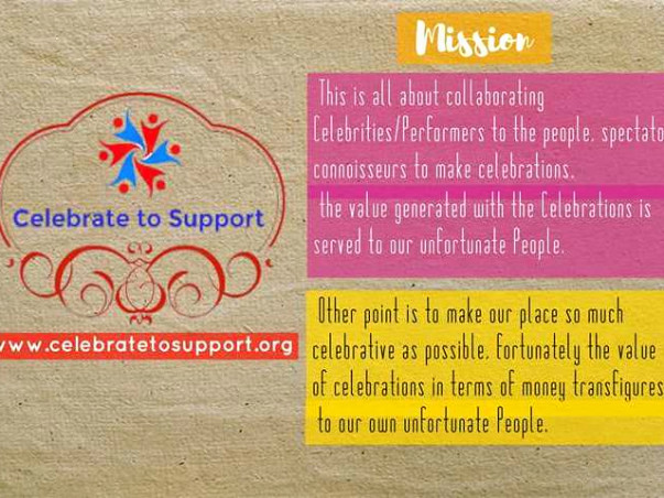 Social Project Initiation - Celebrate to Support