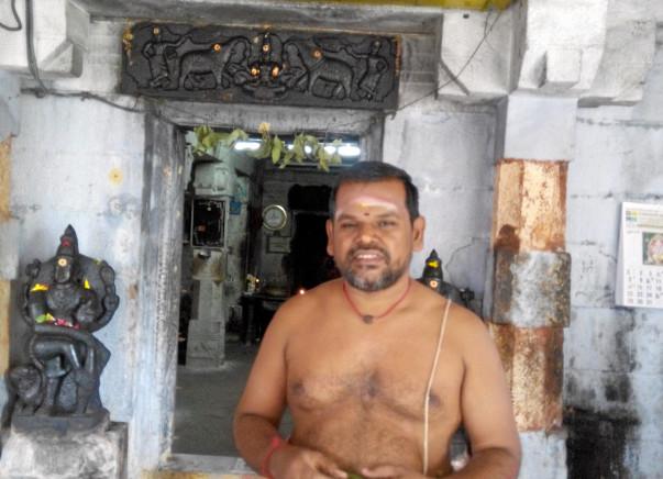 Help a poor sivan temple  purohithar