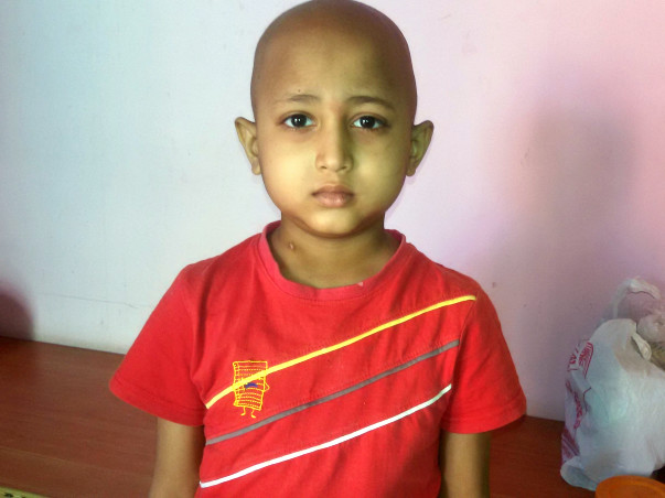 7-year old Dhanvanth needs your help to fight Leukemia