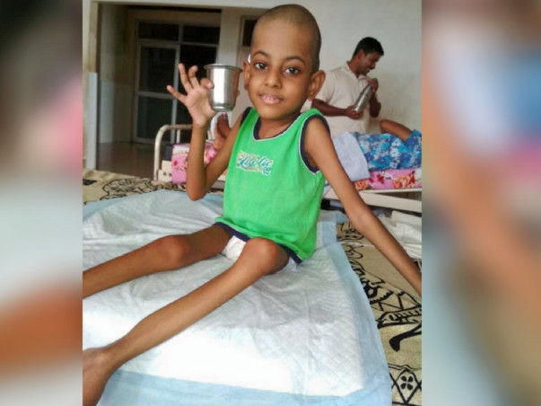 Help This 7-year-old Who Has No Sensation Below His Hips