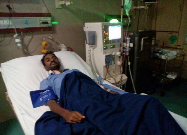 "HELP OUR FRIEND ""BHARAN KUMAR KAGITHA"" OVERCOME KIDNEY TRANSPLANTATION"