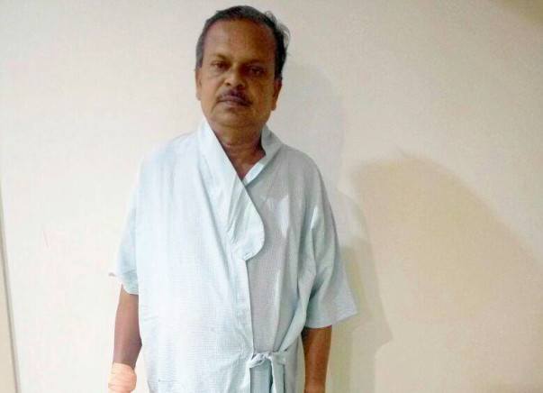 61 year old man with nobody to rely on seeks help for heart surgery