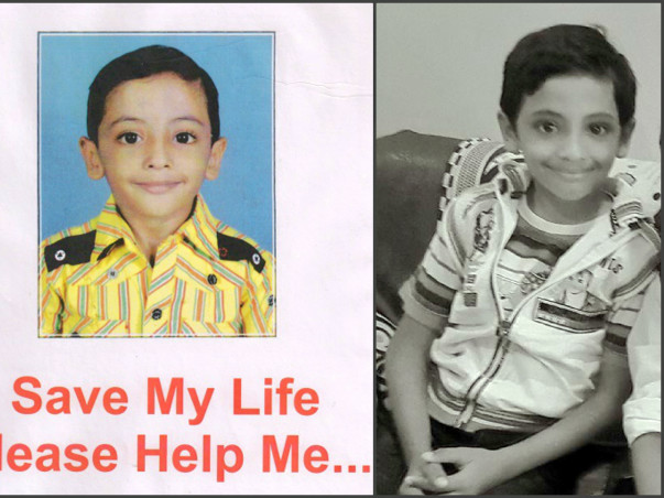 Help Malhar Undergo A Bone Marrow Transplant