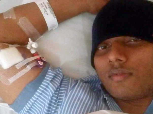 Your small help can save a life. Help Sanjoy & fight for Cancer 🙏