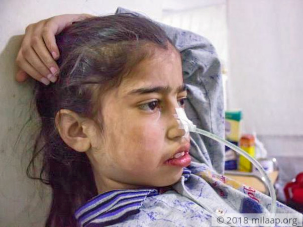10-year-old's Painful Swollen Tummy Makes Her Starve