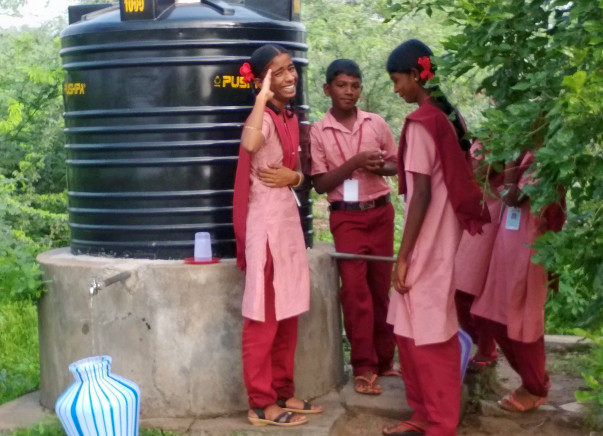 Provide Water To Students In Savariyar Pattanam
