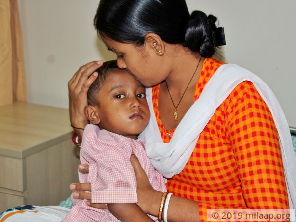 Baby Sudipta needs your help to undergo her treatment
