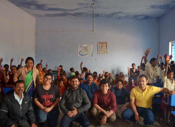Improve Sanitation Facilities For School Children In Lakhan Sai & Naga