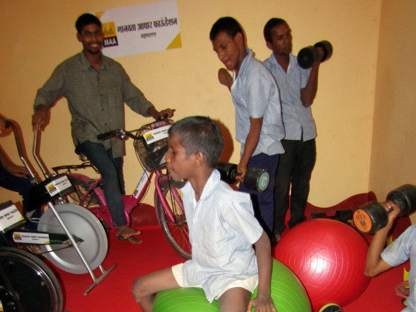 Helping For Multiple Disable People