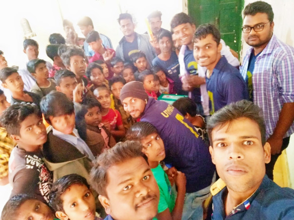 Support Orphan's Affected By Cyclone Fani
