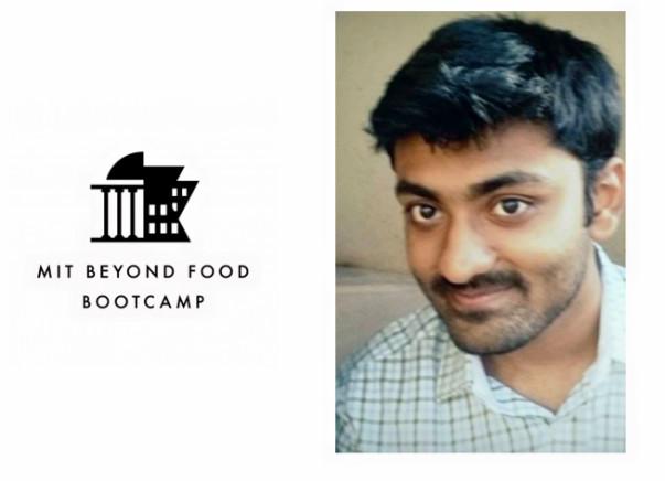 Help Utsav participate in MIT Beyond Food Bootcamp