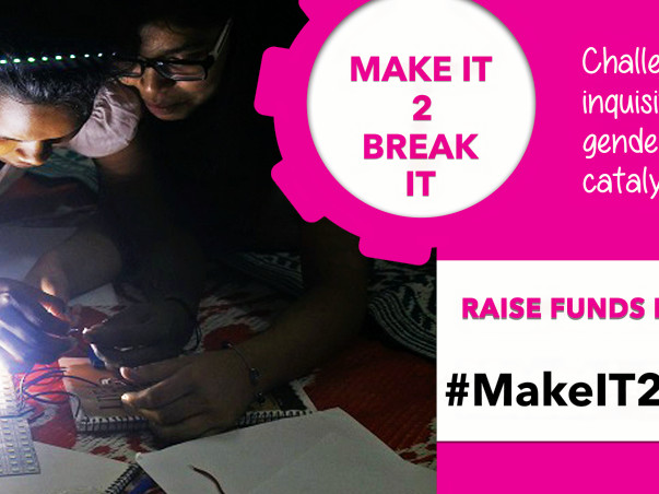 Build A Jugaad Lab For Girls - A Safe Space For Little Innovators