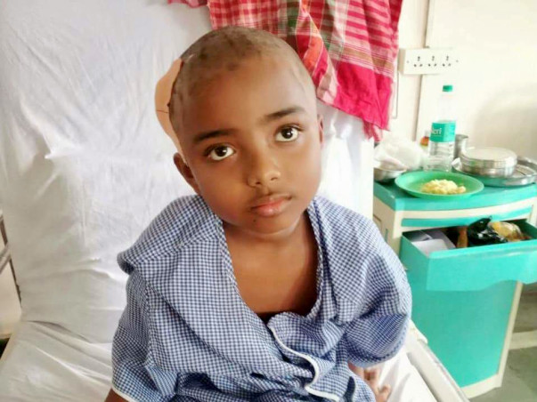 Help the Little Child Fighting with Brain Tumor