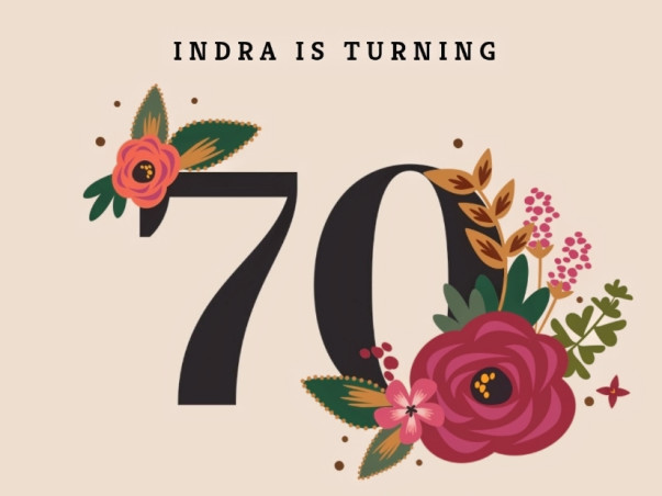 Indra's 70th Birthday Fundraiser for Aarti for Girls