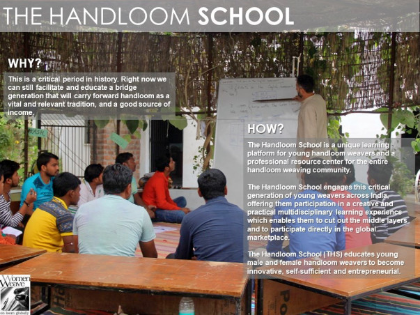Support A New Batch Of Talented Young Weavers At The Handloom School