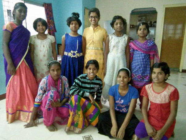 Caring since 10 Years. Support Orphan girl children.