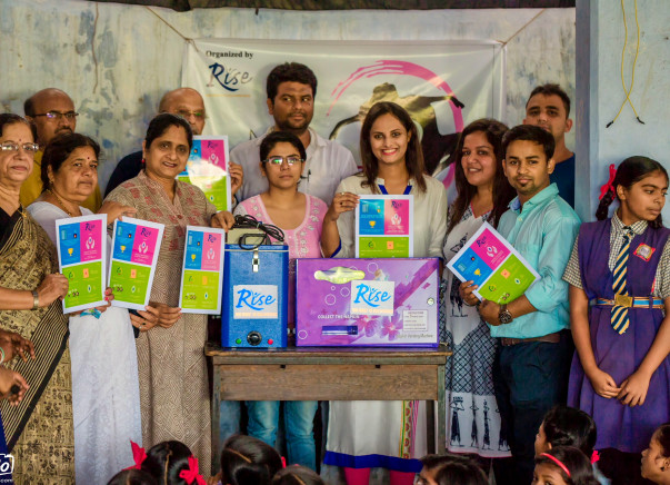 Installing sanitary pads machine in 20 schools in Nagpur (My Health)