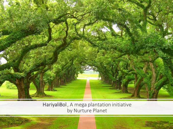 HariyaliBol, A megaplantation Initiative
