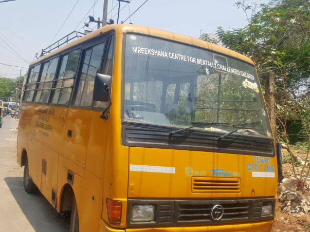 A School Bus for the Intellectually Challenged Kids at Nireekshana