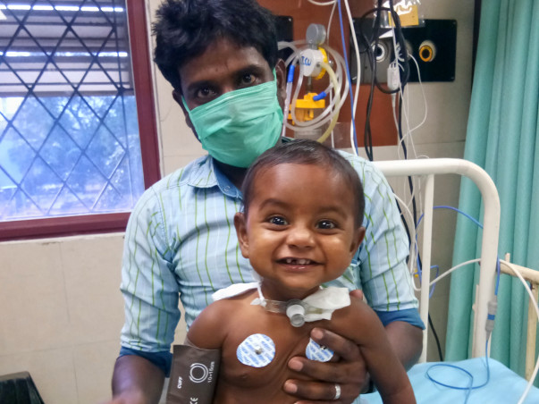 1-year-old Joel Has A Blocked Windpipe & He Needs A Surgery To Breathe