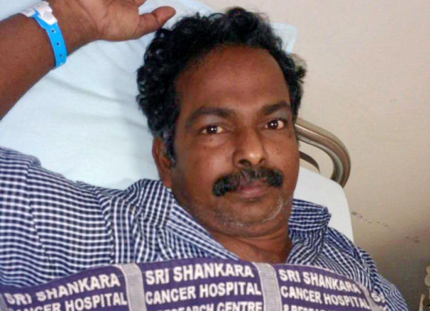 Kind Hearted People, Help Mr.Rajamony To Fight Cancer
