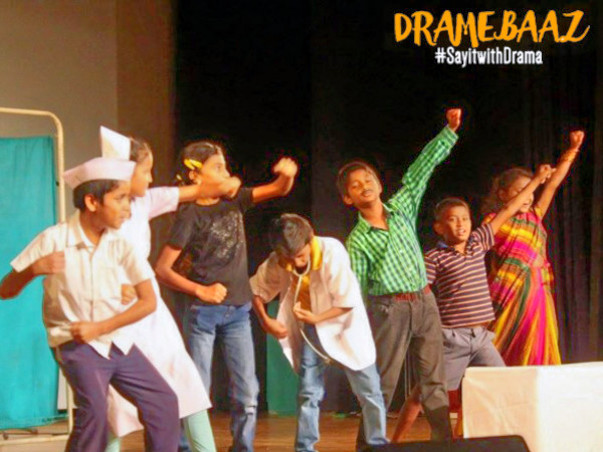 Help kids #Sayitwithdrama