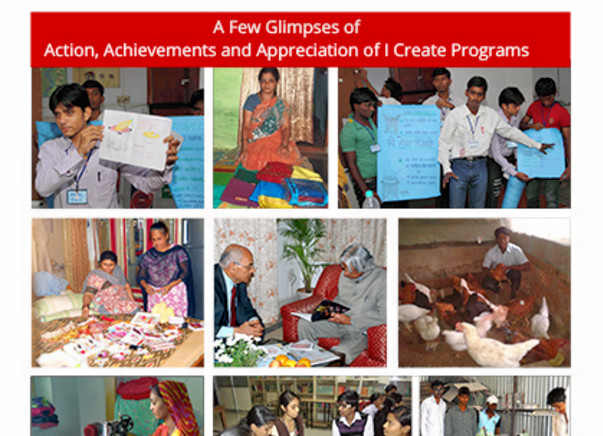 Donate to MAGIC Fund to create Magic in their lives. I Create India - Creating Job Creators.