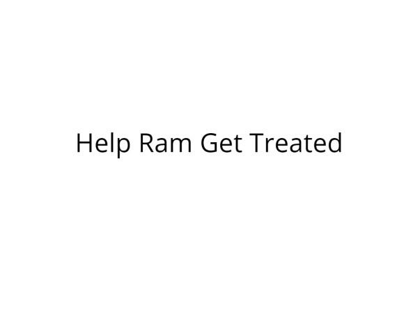 Help Ram Get a Prosthetic Limb