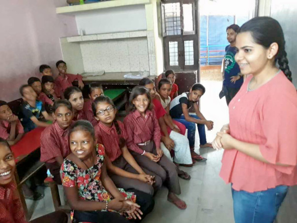 Educate slum children!