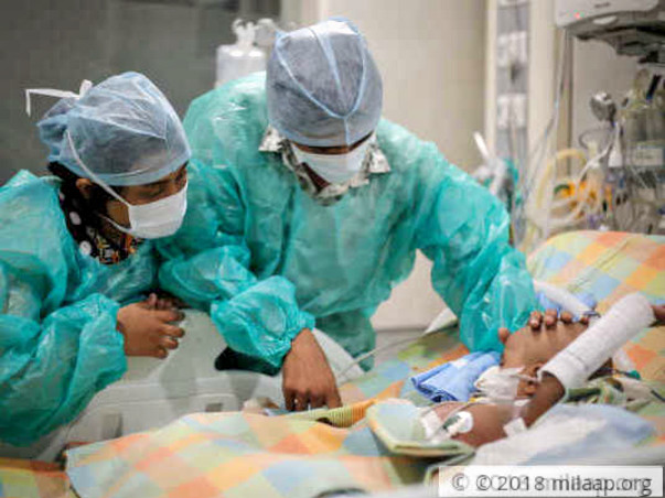 1-year-old who lost kidney needs help or will lose life also