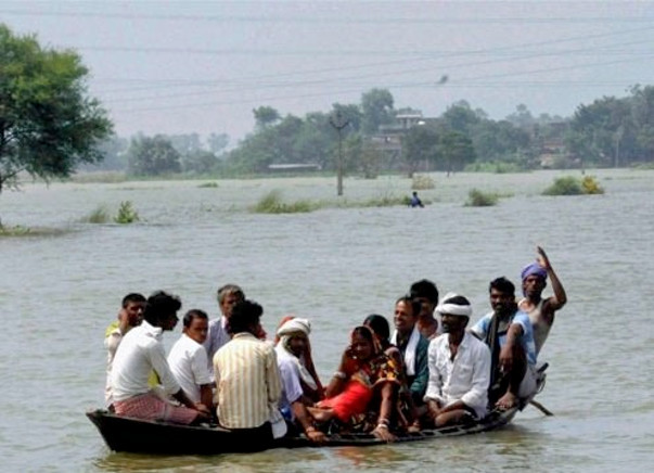 Flood Relief for Gorakhpur District