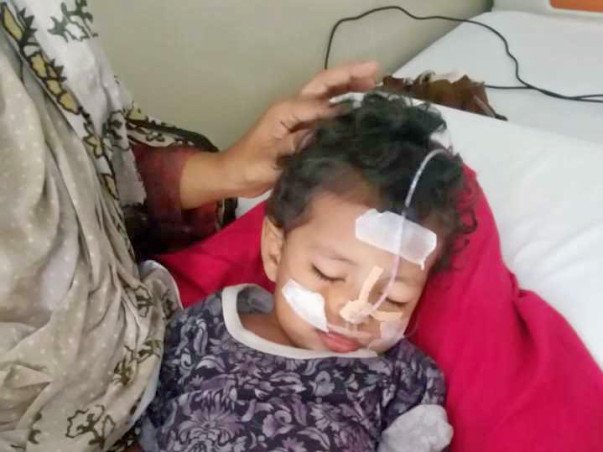 Help Ahood Fatima A Cerebral Palsy Patient To Stand On Her Legs