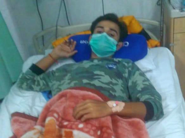 Help Sachin to Fight Blood Cancer.