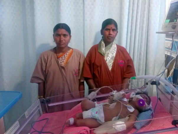 55-year-old Grandmother Struggles To Save Her 1-month-old Grandson