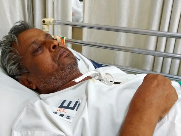 Help Partha Fight Throat Cancer