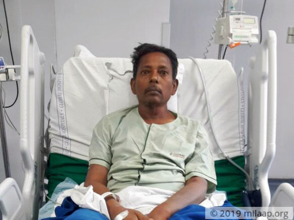 Help 56-year-old Tangwel fight a severe liver disease