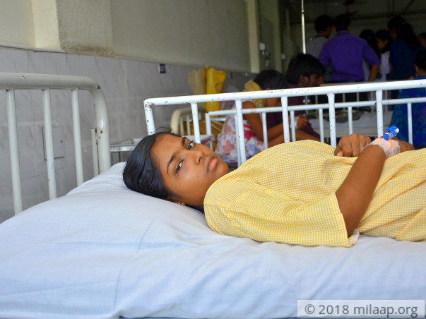17-year-old Narmadha needs urgent help to fight cancer