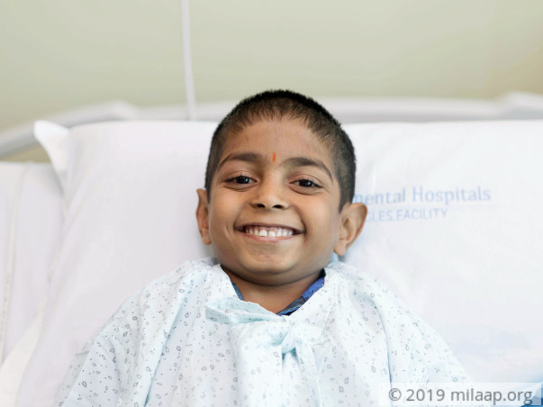 Help 8-year-old Varun fight a severe kidney disease